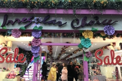 Featured here is unique shoe store Irregular Choice. It is filled with quirky designs based on Disney and more. (Photo by Selma Hansen)